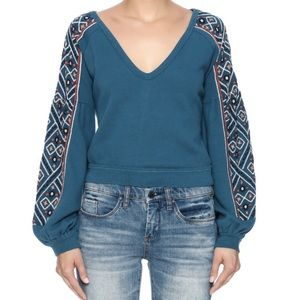 Free People Tops - FREE PEOPLE Embroidered Top