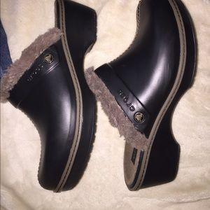 CROCS Shoes - Crocs women's Brown clogs 10 wide