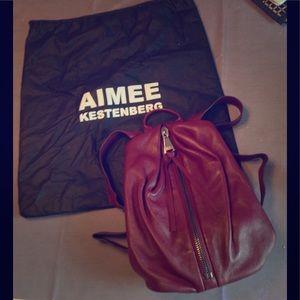 Aimee Kestenberg Handbags - Genuine Leather backpack authentic