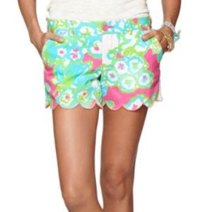 Lilly Pulitzer Pants - Lilly Pulitzer The Buttercup Shorts Size 2