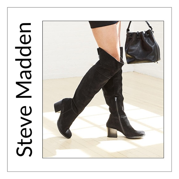 f39a483651b ✨Steve Madden Orabela Suede Over The Knee Boots✨