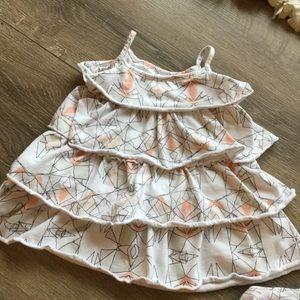 Kardashian Kids Other - Geometric ruffle dress