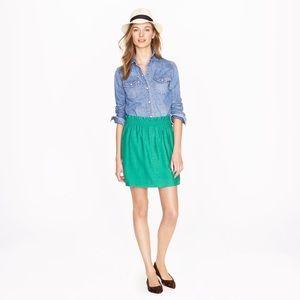 J. Crew Dresses & Skirts - J. Crew Crinkle City Mini Skirt