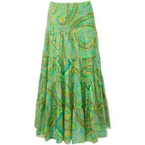 Lauren Ralph Lauren Dresses & Skirts - Lauren ralph lauren Tiered Paisleyprint Maxi Skirt