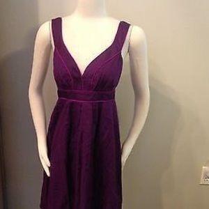 Banana Republic Purple Linen Dress