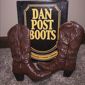 Dan Post Shoes - Dan Post Brown Women's Boots