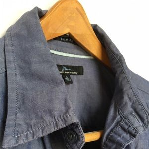 Marc Anthony Other - 🔥MARC ANTHONY blue collared short slv button down