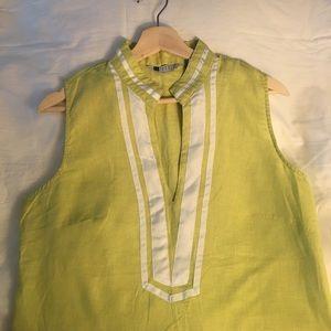 Carole Little Tops - Coarole Little Gorgeous Linen Blouse