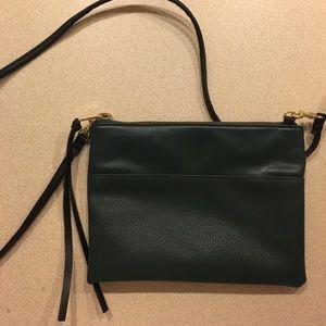 Forest Green Messenger Bag
