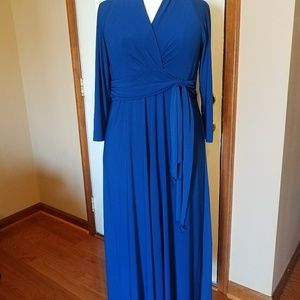 Antthony Dresses & Skirts - Blue Maxi Dress by Antthony