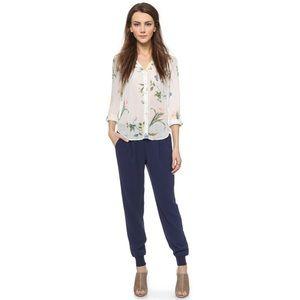 Joie Pants - Joie Mariner navy pants size M $169
