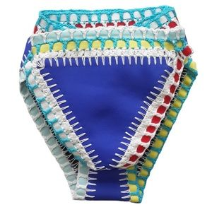 KIINI Other - Blue Crochet Bikini