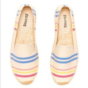 Soludos Shoes - NWT🎊 Soludos 'Candy Stripe Smoking Slipper'