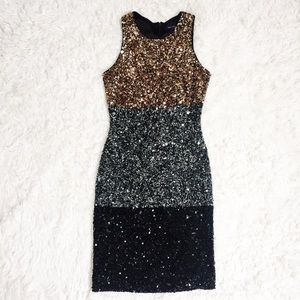 NWOT FRENCH CONNECTION SEQUIN DRESS