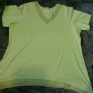 Denim & co plus size women's shirt 3x