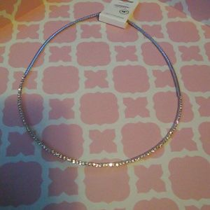 ICON Jewelry - Omega and pave diamond chocker