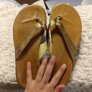 OluKai Shoes - OluKai Hoopio Leather sandals