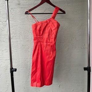 Dresses & Skirts - Coral Over the Shoulder Dress