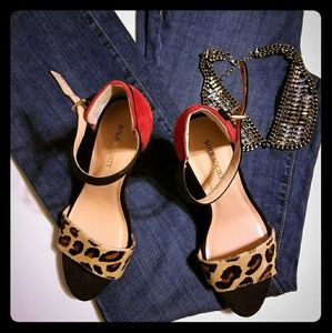 Sole Society Shoes - Sole Society Open Toe Heel