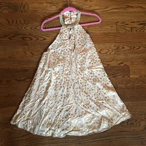 Gold Rockstar Dress