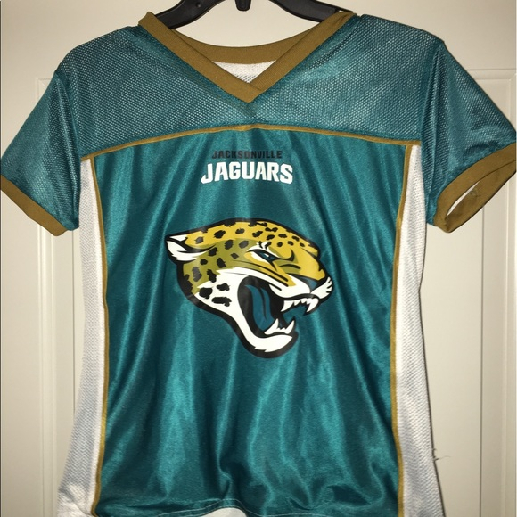 1164de3e8b1fd NFL play 60 Jacksonville jaguars reversible jersey.  M 591b9c6cd14d7ba08818434f. Other Shirts   Tops ...