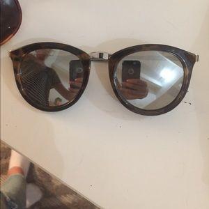 Le Specs Accessories - LeSpecs silver mirrored sunglasses