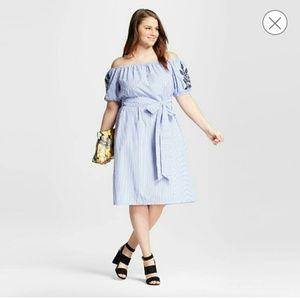 WHO WHAT WEAR Dresses & Skirts - NWT ][ Bardot Off Shoulder Dress