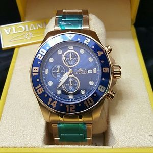 Invicta Other - Weekend sale,NWT $795 Invicta 18k gold watch