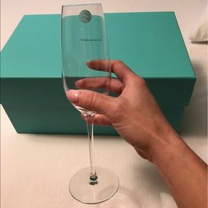Authentic Tiffany & Co. champagne glasses