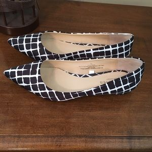 Adam Lippes For Target Shoes - Never worn! Black with White flats.