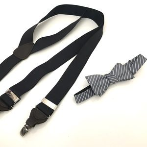 Trafalgar Other - Set of men's suspenders and bow tie
