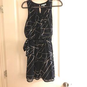 She + Sky Navy Dress