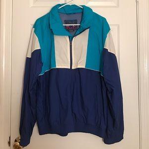 Jackets & Blazers - 80s Retro Windbreaker Jacket