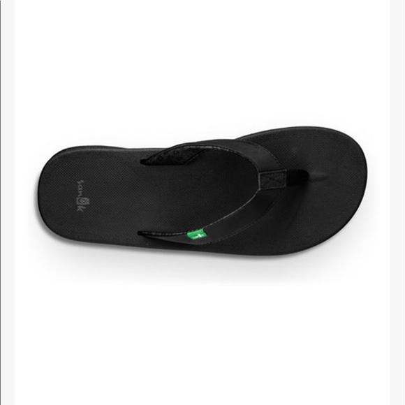 Sanuk Nwt Sanuk Yoga Mat Black Wanderer Sandal From Dani