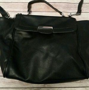 mossimo Handbags - Black Satchel