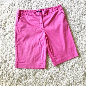 Jones New York Pants - JONES NEW YORK Pink Bermuda Shorts