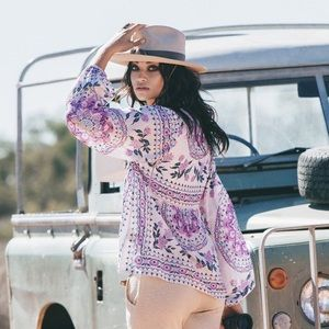 Spell & The Gypsy Collective Tops - 💕 Spell - Pandora Top Primrose
