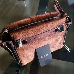 Botkier Handbags - Botkier Calf Hair/Leather Crossbody/Clutch