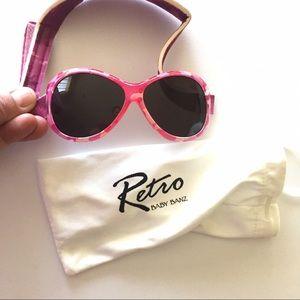 BaBy BanZ Other - Pink diva retro baby banz sunglasses