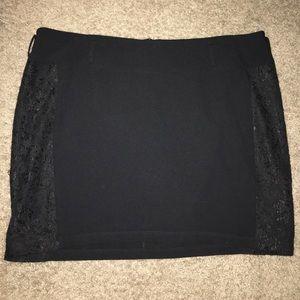 torrid Dresses & Skirts - Torrid Mini skirt Lace side