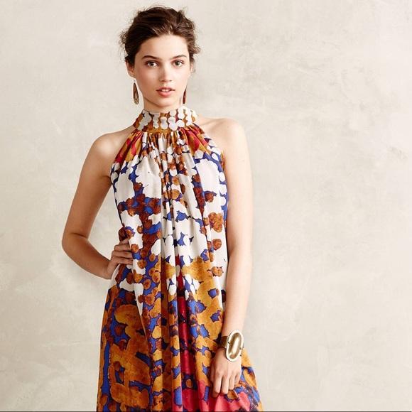 816cbeef70c47 Anthropologie Dresses & Skirts - SALE Anthro Roopa Pemmaraju Lorna Silk Maxi  Dress