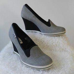 Gotta Flurt Shoes - Gotta Flirt Sneaker Wedge Heels