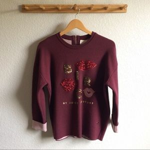 Bird by Juicy Couture Sweaters - [Bird by Juicy Couture] Sequined Sweatshirt