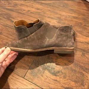 Trask Shoes - 🌻Trask Allison Italian Suede Booties compare 2 FP