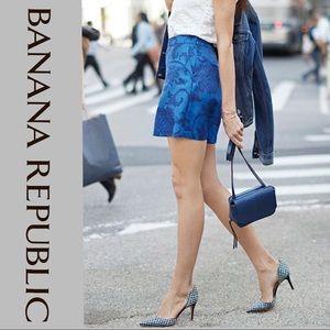 Banana Republic Drapey Floral Print Shorts