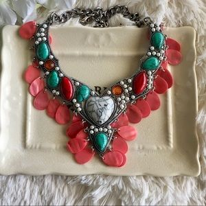 "B&B Jewelry - ""Mercedes"" Shell Statement Necklace"