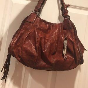 Cole Haan Handbags - 👜 Leather Cole Haan Shoulder Tote Bag