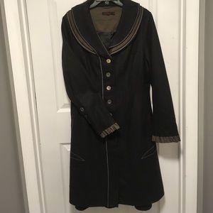 Joe Browns Jackets & Blazers - Gorgeous Joe Browns Charcoal Gray Long coat 10