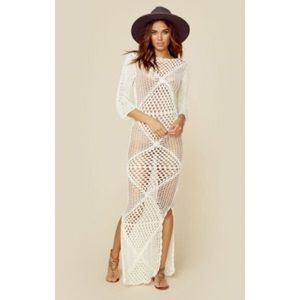 Cleobella Dresses & Skirts - NWTs Cleobella Crochet Maxi Dress
