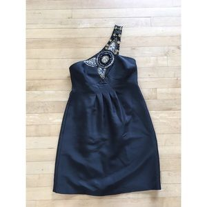 Tibi Dresses & Skirts - Tibi Black One Shoulder Dress